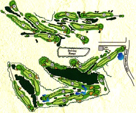 Quail Hollow Country Club,Oakham, Massachusetts,  - Golf Course Photo