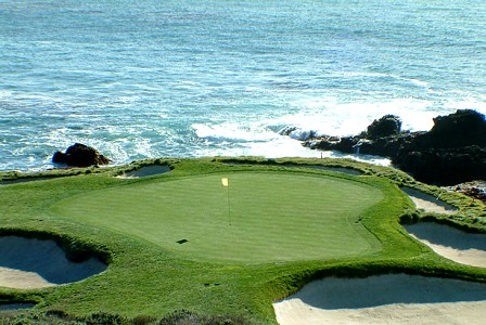 Pebble Beach Golf Links -Golf Links, Pebble Beach, California, 93953 - Golf Course Photo