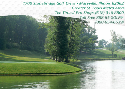 Stonebridge Golf Club,Maryville, Illinois,  - Golf Course Photo