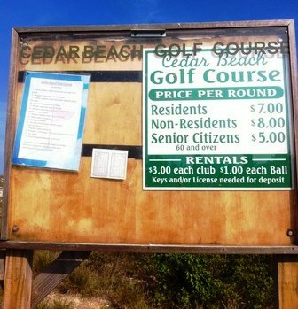 Cedar Beach Golf Course,Babylon, New York,  - Golf Course Photo