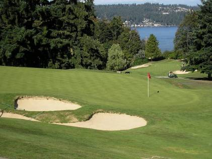 Golf Course Photo, Sand Point Country Club, Seattle, 98115