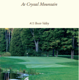 Crystal Mountain Resort, Betsie Valley,Thompsonville, Michigan,  - Golf Course Photo