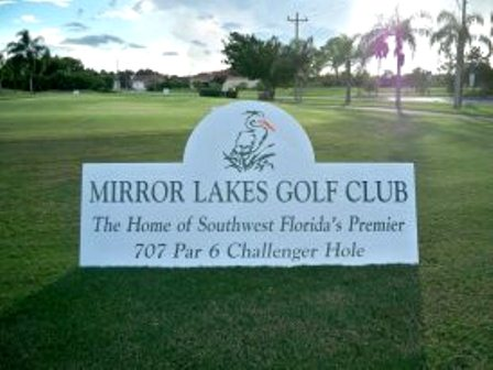 Golf Course Photo, Mirror Lakes Golf Club, Lehigh Acres, 33936