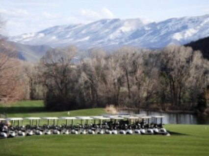 Wasatch Mountain State Park, Lake Course,Midway, Utah,  - Golf Course Photo