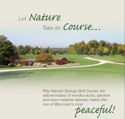 Golf Course Photo, Wander Springs Golf Course, Greenleaf, 54126