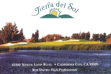 Tierra Del Sol Golf Club, California City, California, 93505 - Golf Course Photo