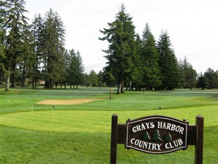 Grays Harbor Country Club,Aberdeen, Washington,  - Golf Course Photo