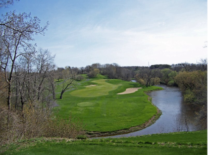 Blackwolf Run Golf Course, River,Kohler, Wisconsin,  - Golf Course Photo
