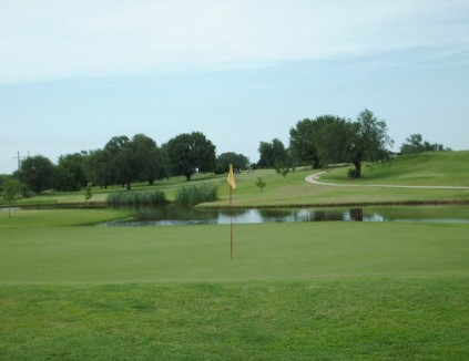 Dietrich Memorial Golf & Country Club, CLOSED 2012,Anadarko, Oklahoma,  - Golf Course Photo