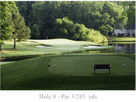 Golf Course Photo, Pinewood Country Club, Asheboro, 27203