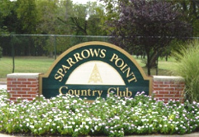 Sparrows Point Country Club -Nine Hole, Baltimore, Maryland, 21222 - Golf Course Photo