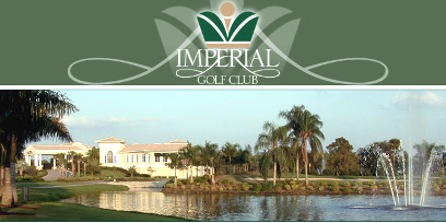 Imperial Golf Club -West,Naples, Florida,  - Golf Course Photo