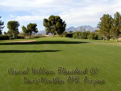 Davis-Monthan AFB Golf | Blanchard Golf Course, CLOSED 2018,Tucson, Arizona,  - Golf Course Photo