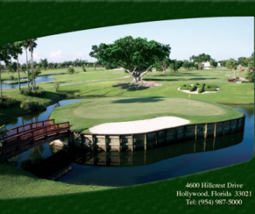 Golf Course Photo, Hillcrest Golf Club, Hollywood, 33021