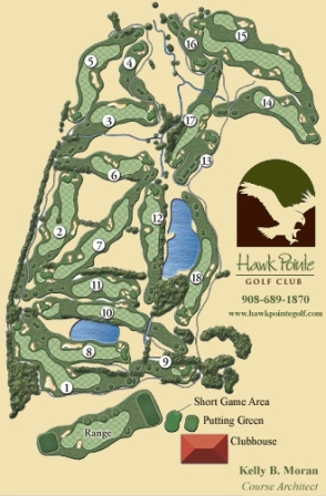 Hawk Pointe Golf Course,Washington, New Jersey,  - Golf Course Photo