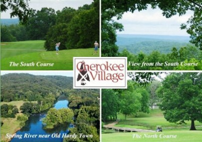Cherokee Village Golf Course - South, Cherokee Village, Arkansas, 72525 - Golf Course Photo