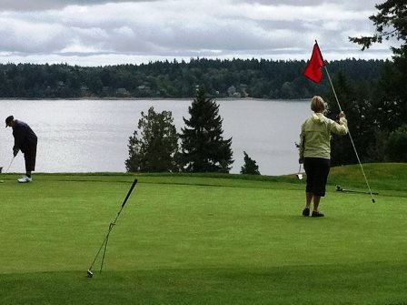 Olympia Country & Golf Club, Olympia, Washington, 98502 - Golf Course Photo