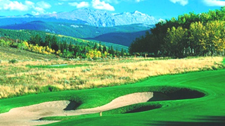 Cordillera Golf Course -Mountain,Edwards, Colorado,  - Golf Course Photo