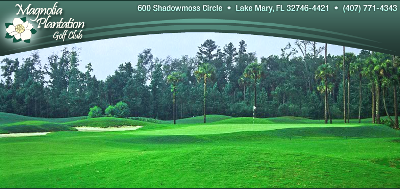 Magnolia Plantation Golf Club,Lake Mary, Florida,  - Golf Course Photo