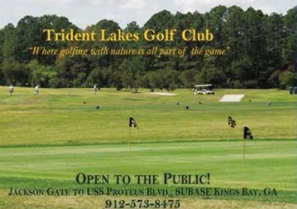 Golf Course Photo, Trident Lakes Golf Course, Naval Submarine Base, 31547