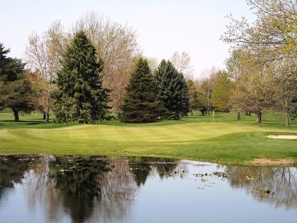 Golf Course Photo, Marshall Country Club, Marshall, 49068