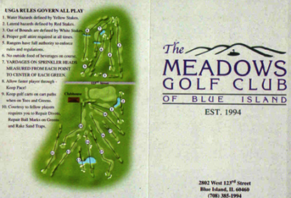 Meadows Golf Club Of Blue Island, The,Blue Island, Illinois,  - Golf Course Photo