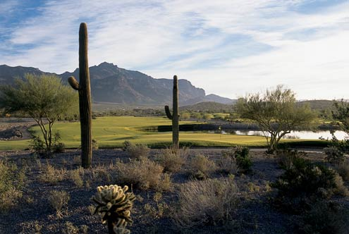 Golf Course Photo, Superstition Mountain Golf & Country Club -Lost Gold, Superstition Mountain, 83219-9985