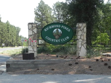 Golf Course Photo, Richmond Pines Country Club, CLOSED 2014, Rockingham, 28379