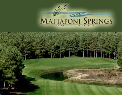Golf Course Photo, Mattaponi Springs Golf Club, Ruther Glen, 22546