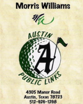 Morris Williams Golf Course,Austin, Texas,  - Golf Course Photo