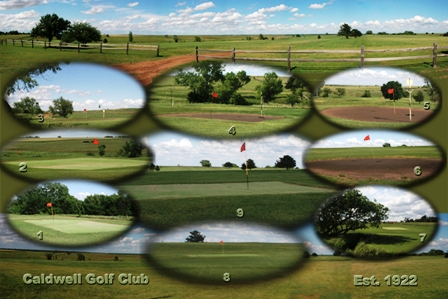 Caldwell Golf Course,Caldwell, Kansas,  - Golf Course Photo
