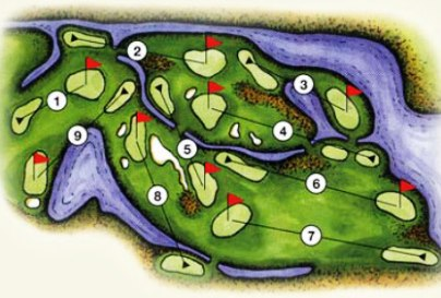 Willows Run Golf Club -Heron Links,Redmond, Washington,  - Golf Course Photo