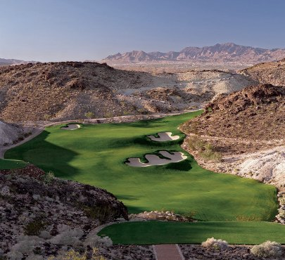 The Falls Golf Club, CLOSED 2009, Henderson, Nevada, 89011 - Golf Course Photo