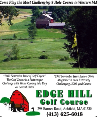 Edge Hill Golf Course,Ashfield, Massachusetts,  - Golf Course Photo