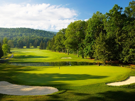 Homestead Resort, Cascades Golf Course,Hot Springs, Virginia,  - Golf Course Photo