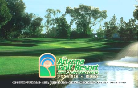 Arizona Golf Resort & Conference Center, The, Mesa, Arizona, 85206 - Golf Course Photo