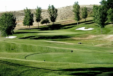 Pryor Creek Golf Club - Elmer Link,Huntley, Montana,  - Golf Course Photo