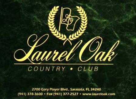 Golf Course Photo, Laurel Oak Country Club, West Course, Sarasota, 34240
