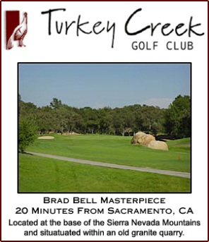 Golf Course Photo, Turkey Creek Golf Club, Lincoln, 95648