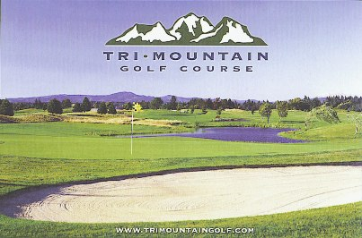 Golf Course Photo, Tri-Mountain Golf Course, Ridgefield, 98642