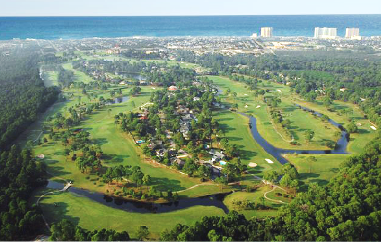 Holiday Golf Club -Regulation,Panama City Beach, Florida,  - Golf Course Photo