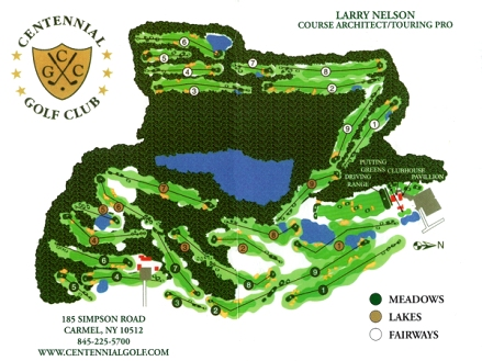 Centennial Golf Club,Carmel, New York,  - Golf Course Photo