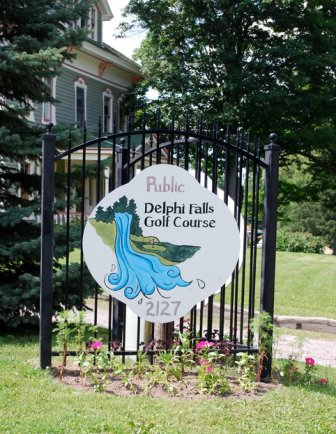 Delphi Falls Golf Course, CLOSED 2013,Delphi Falls, New York,  - Golf Course Photo