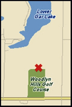 Golf Course Photo, Woodlyn Hills Golf Course, Milford, 51351