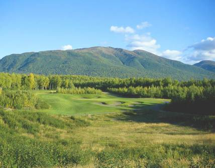 Moose Run Golf Course - Creek,Fort Richardson, Alaska,  - Golf Course Photo