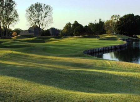 Oak Tree Country Club, East Course, Edmond, Oklahoma, 73003 - Golf Course Photo