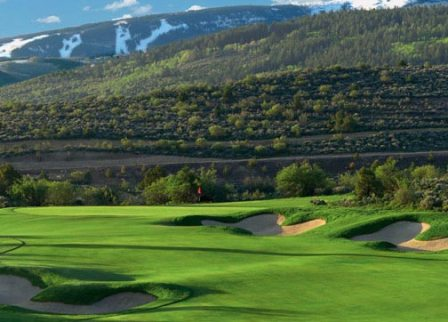 Red Sky Golf Club, Greg Norman Course,Avon, Colorado,  - Golf Course Photo