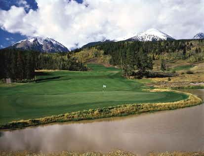 Raven Golf Club At Three Peaks,Silverthorne, Colorado,  - Golf Course Photo