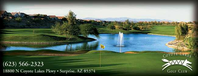 Coyote Lakes Golf Club,Surprise, Arizona,  - Golf Course Photo