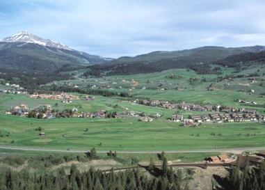 Big Sky Golf Club & Summer Resort,Big Sky, Montana,  - Golf Course Photo
